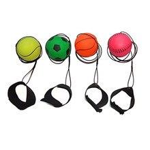 Детские игрушки, надувной мячик для пальцев, эластичный резиновый шарик для упражнений на запястье, облегчение жесткости рук и запястья