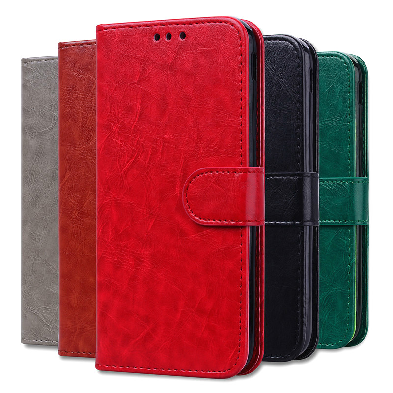 Flip Leather Case for Xiaomi Redmi 6A Global Phone Wallet Phone Cases for Xiaomi Redmi 6A Card Holder Cover Funda Redmi 6A image