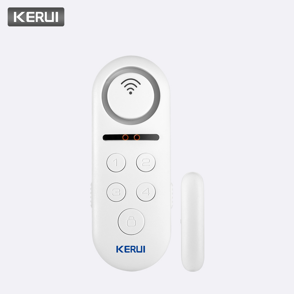 KERUI 1pcs Lot 120dB Wifi Wireless Door Window Sensor Door Bell Welcome Alarm System APP Remote Control Home Security Detector(China)