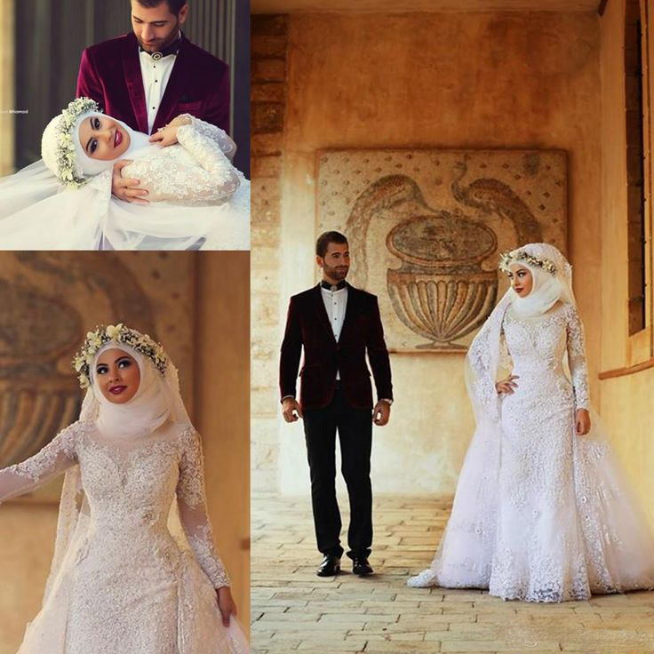 Middle eastern wedding dresses dress trumpet wedding for Middle eastern wedding dresses