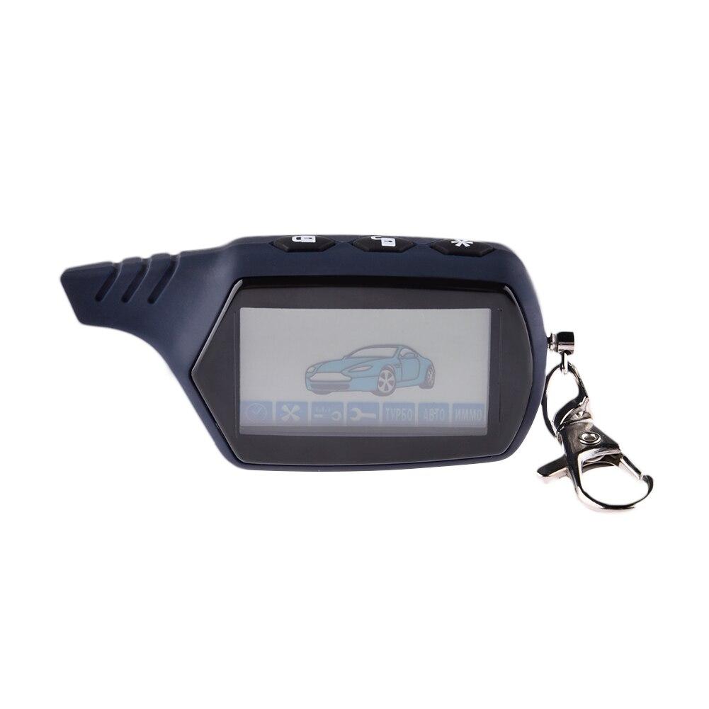 LCD Fernbedienung 2 Weg Auto Alarm Schlüssel Für Starline 91 Motor Starter Starline A91 Fob Schlüsselanhänger Körper Remote