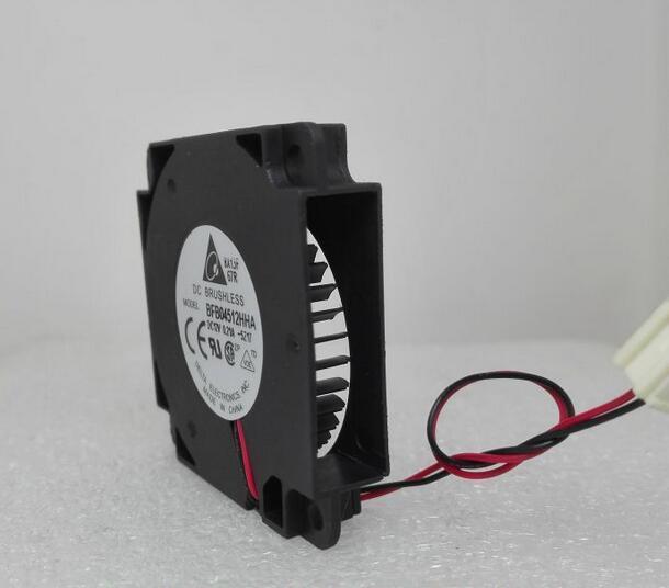 Genuine DELTA 0.21A BFB04512HHA   45*45*10MM 2 wire fan blower with4.5CM