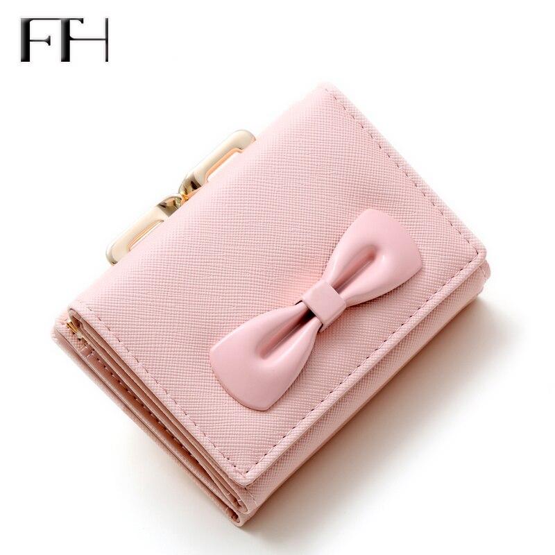 Divattervezés Női mini édes Bowknot pénztárca Női bőrbőr csipke érme erszényes női szexi pénztárca kártya tartó cseréje lányoknak
