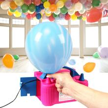 Double Hole AC Inflatable 600W Electric Air Balloon Pump Electric Balloon Inflatable Pump Portable Air Blower EU Plug 220-240V free shipping 1100w electric air blower for inflatable products