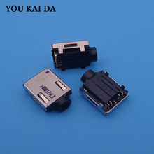 1pcs Earphone Audio Jack Connector for Sony Vaio VPCEJ1Z1E SVE15 SVE151C11T PCG-71911M motherboard Headphone Port usb adapter(China)