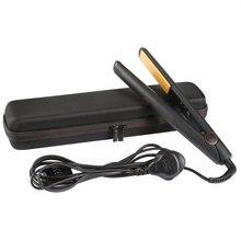 Чехол для ghd V Золотой Классический Styler Инструменты для стилиста бигуди защитный выпрямитель для волос с чехлом жесткий Туристическая сумка Box