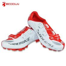 BOODUN Carbon Fiber Cycling Shoes Mountain Bicyclie Sports MTB Bike Shoe Women/Men Cycling Sneakers Sapatilha Zapatillas Cycling