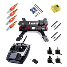 Carbon Fiber Mini 250 C250 QAV250 Quadcopter Frame Motor ESC 2.4G TX RX CC3D