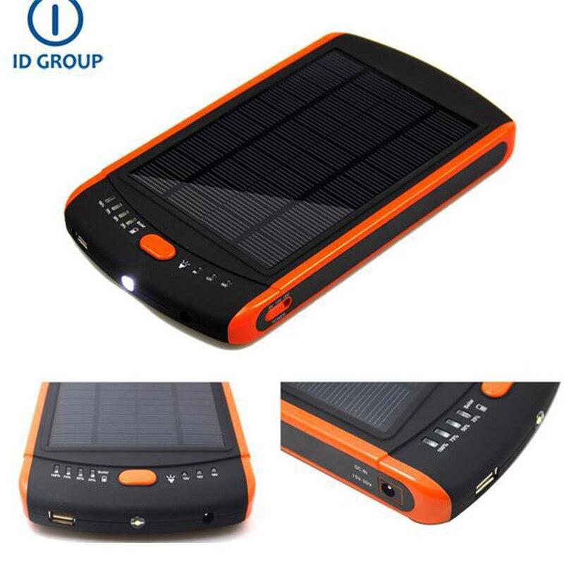 super high 23000mah capacity solar power bank 5v 12v 16v. Black Bedroom Furniture Sets. Home Design Ideas