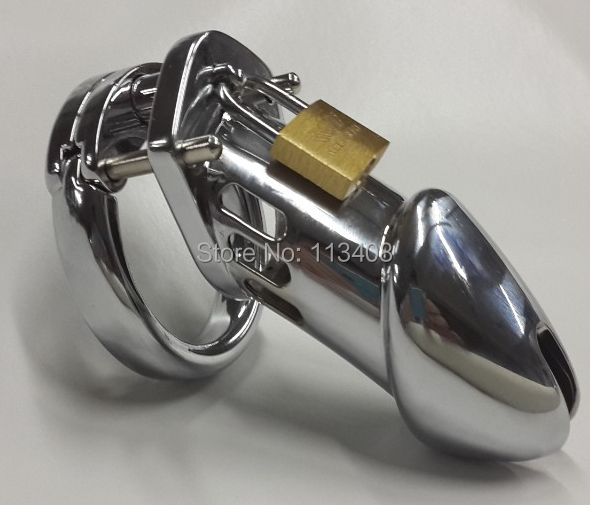 Penis cage Male Chastity device cock Cage Metal Chastity Bondage Belt Sex Toys penis Cage 11cm long CB6000