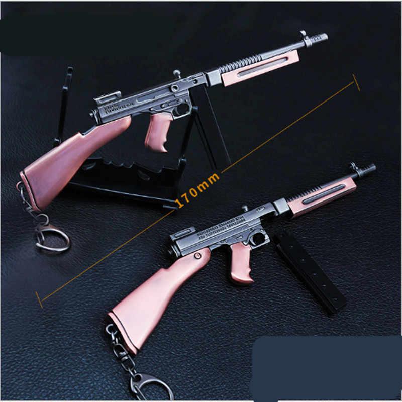 Игра PUBG SKS SCAL оружейный картридж сборный пистолет Модель 17 см Брелок высокого качества игровой брелок для ключей подарки влюбленным