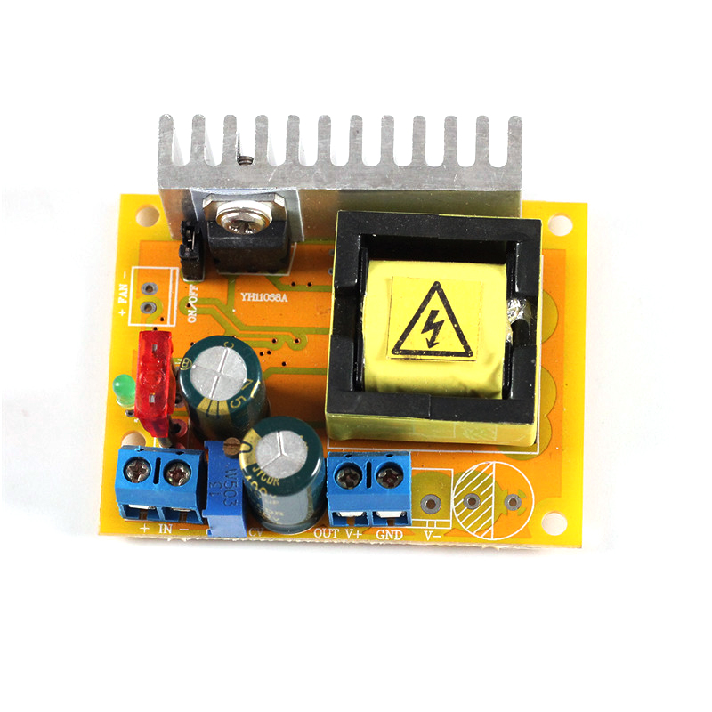 DC-DC 8-32V to 45-390V Step Up Power Supply Module High Voltage Boost Converter Board Constant Current Adjustable