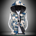 TG6384 Cheap wholesale 2016 new Couples ma3 jia3 camouflage eiderdown cotton han edition hooded cotton vest vest