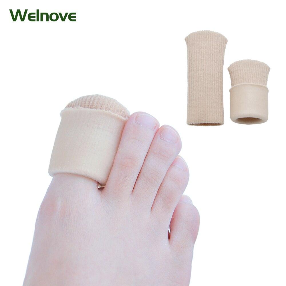 Adjuster Valgus Guard Foot Cream Shoe Insole Long Silicone Corn Set Silicone Feet Toes Protector Toe Thumb C1098