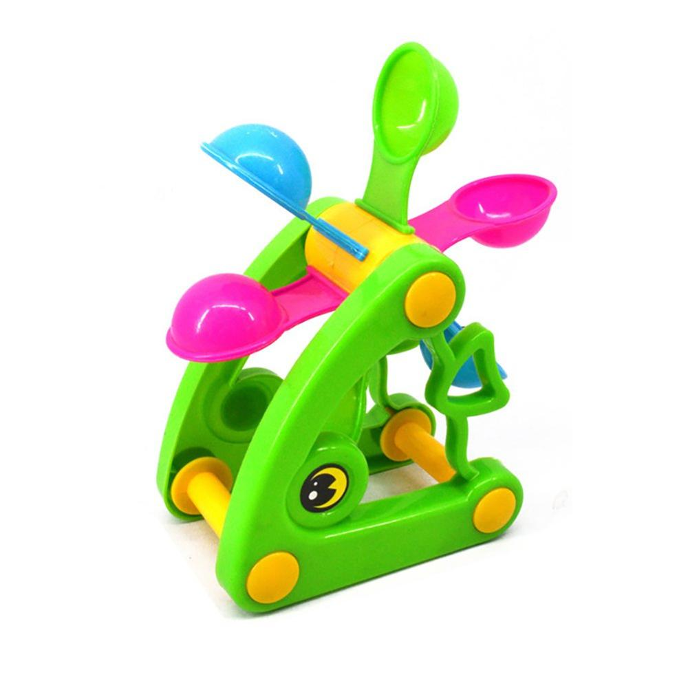 Beach Cute Windmill Toy For Kids  Waterwheel Summer Play Sand Water Toys Swimming Pool Bathing Beach Party Child's Play Bath Toy