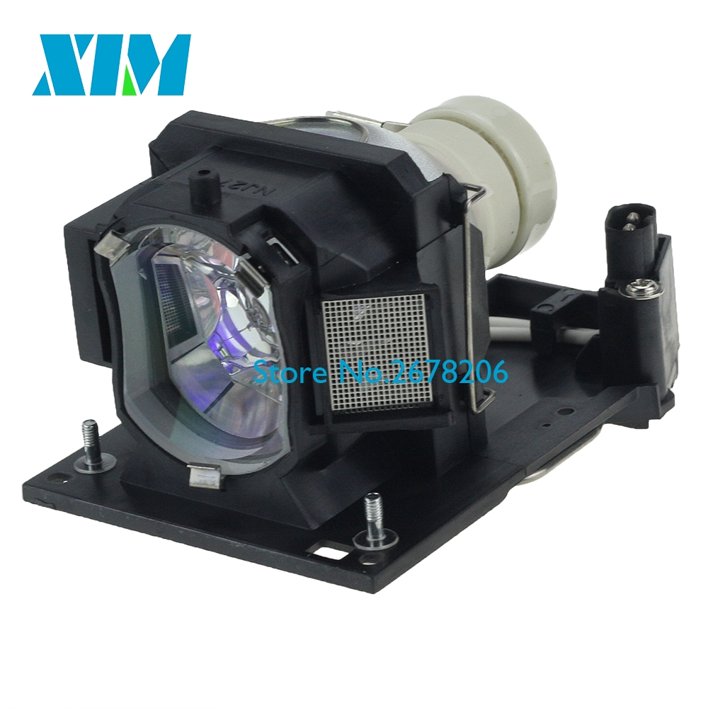 180 Days Warranty DT01511 Replacement Projector lamp with housing for Hitachi CP-CX301WN/CP-TW2505/CP-TW3005/HCP-K26