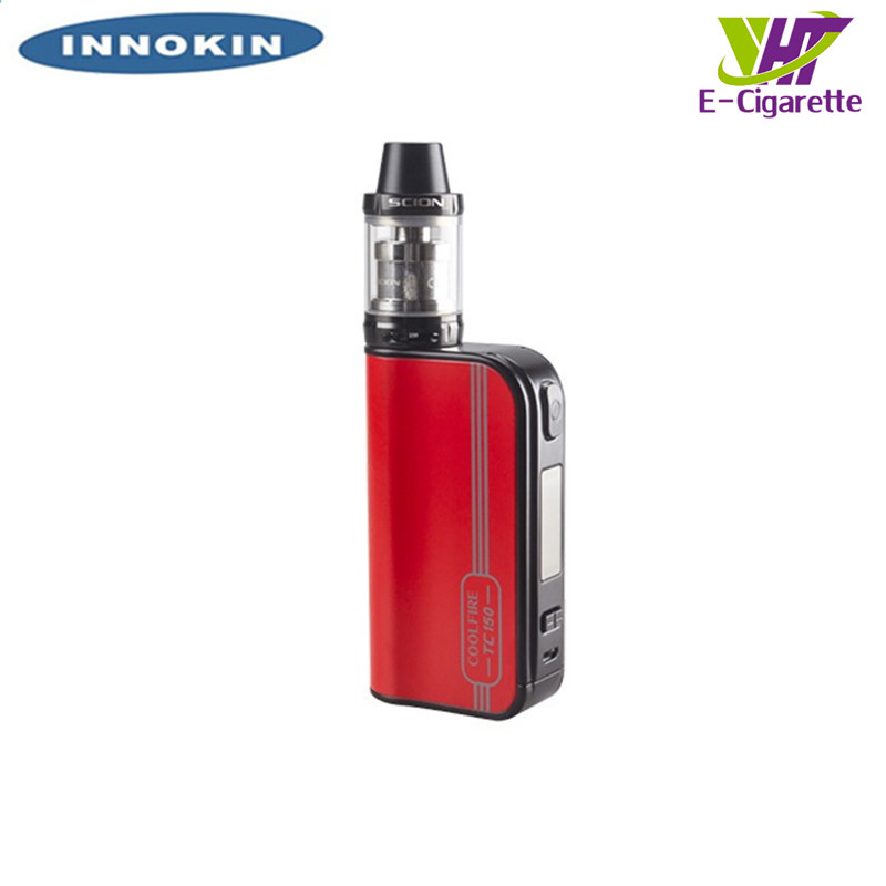 Original TC150W Innokin CoolFire Ultra SCION Kit 4000mAh Battery Temperature Control Mode Vape Kit Box Mod Tank Kit innokin cortex tc 80w box mod e cigarette kit