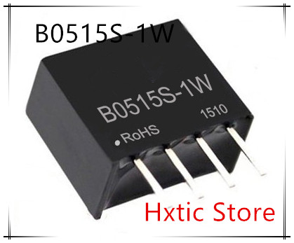 10PCS/LOT B0515S-1W B0515S 1W DC DC Boost Converter 5V To 15V 1W Isolated Dc-dc Power Modules