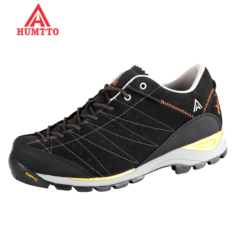 hot autumn winter outdoor trekking sport shoes men hiking camping sneakers comfortable man shoe lace-up rubber
