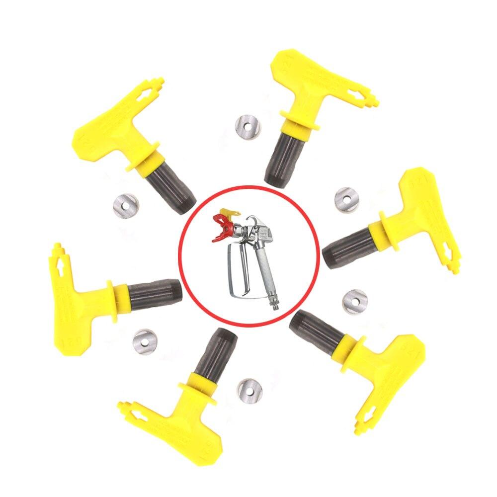 Varies Type Airless Spray Gun Nozzle 211 311 315 411 415 511 513 515 517 519 521 523 527 Airless Paint Spray Tip Sprayer Nozzles