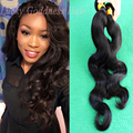 Anjo graça cabelo 100% humano não transformados 7A cabelo Brasileiro da onda do corpo 3 bundles/lote Brasileiro virgem xuchang cabelo R & L cabelo
