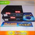Factory price pandora 520 in 1 game pcb box 3 jamma arcade multi game borad multigame card VGA output Arcade fighting game pcb