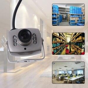 Image 5 - OOTDTY ИК Проводная Мини камера видеонаблюдения с цветным ночным видением инфракрасный видеорегистратор