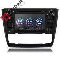 Isudar Автомагнитола 1 Din на Android 8.0 с Сенсорным 7 Дюймовым Экраном для Автомобилей BMW E81/E82/E88 1 Серий с поддержкой Canbus DSP OBD2 8 Ядер