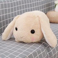 Rabbit Dolls Plush Classical Lying Bunny Rabbit Toy Amuse Lolita Loppy rabbit Kawaii Plush Pillow for Kids Friend Girls 3