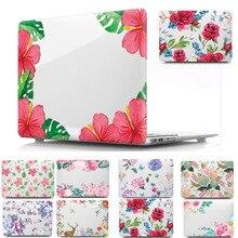 цена Print Pattern 11 12 13 15 inch Hard Shell Laptop Cover Case For Apple Macbook Mac book Air Pro Retina Touch Bar 11.6 13.3 15.4 онлайн в 2017 году