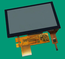 5.0 inch 24Bit RGB TFT LCD Capacitive Touch Color Screen 800(RGB)*480 6P I2C CTP