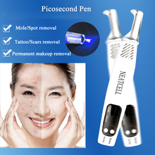 Professionell Laser Picosecond Pen Tattoo Freckle Removal Mole Spot Ögonfärg Pigment Remover Acne Treatment Machine Skönhetsvård