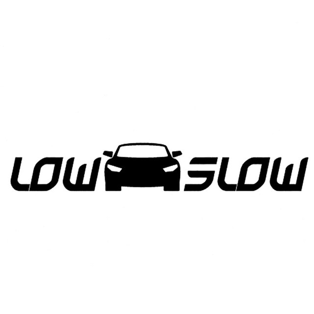 25 44cm low n slow car jdm car sticker accessories stickers and decals for black