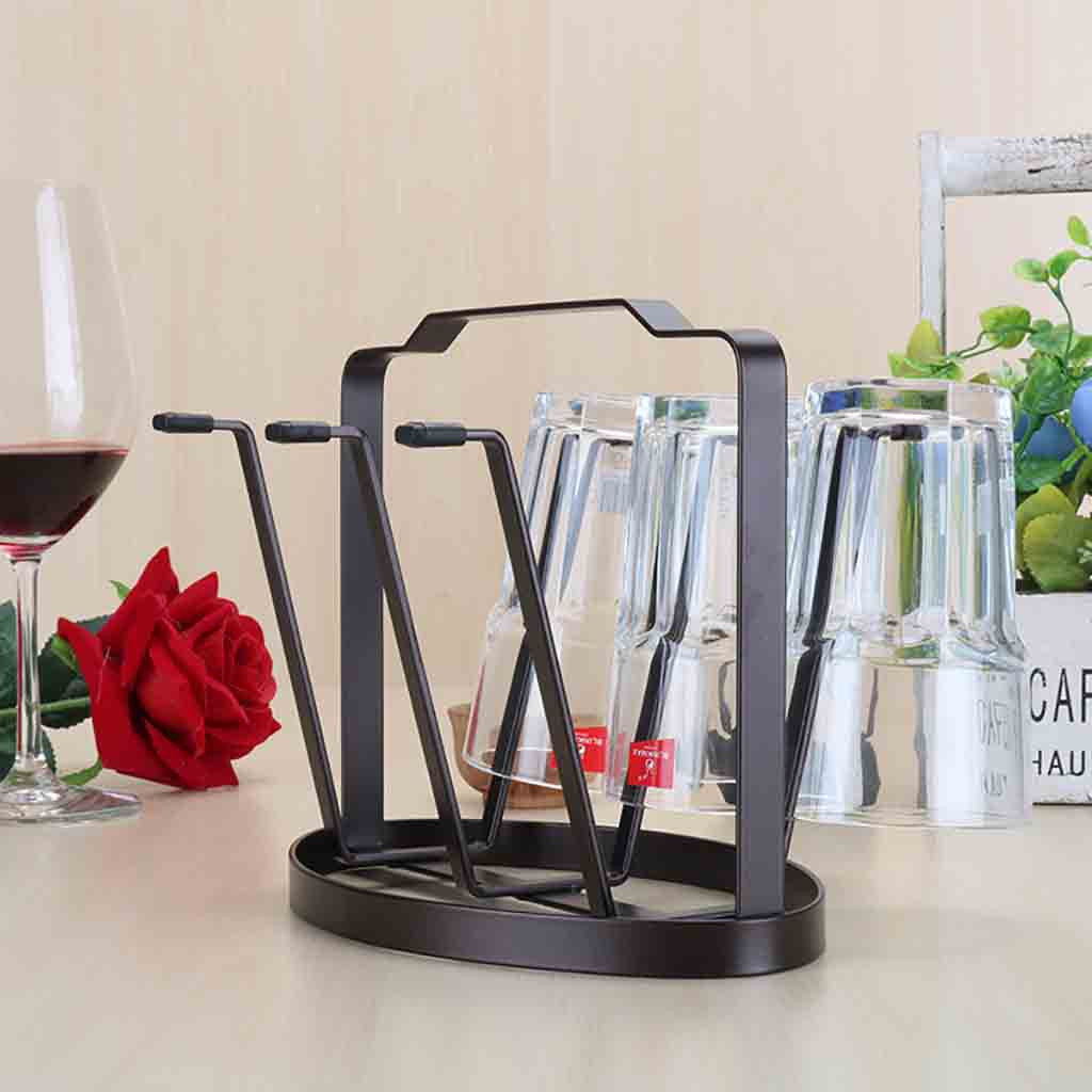 Home Kitchen Bar Mug Tree Dishes Dry Rack Holder Coffee Cup Hanger Storage Stand  July 12 DropShipping