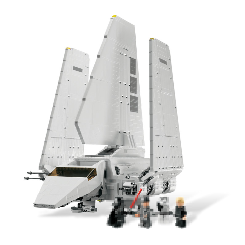 LEPIN 05034 2503Pcs Star Series War The Assemble Shuttle Building Blocks Bricks Technic toy Christmas gifts Compatible 10212 rollercoasters the war of the worlds