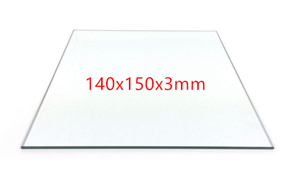 3d Printer Parts Print Table Borosilicate Glass Plate For Up Reprap Prusa Rostock Heating Bed Boro Bed Plate Size:140*150*3mm Providing Amenities For The People; Making Life Easier For The Population Office Electronics Computer & Office