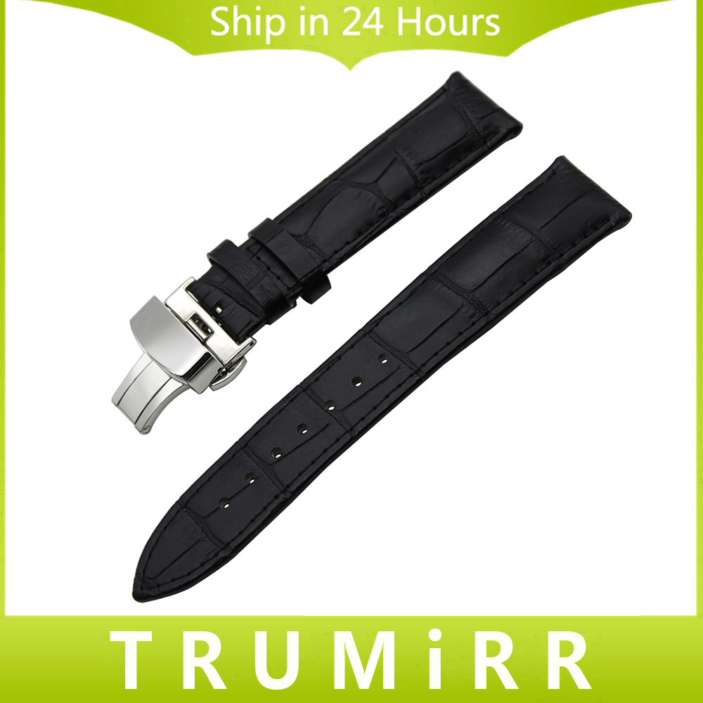 Genuine Leather Watchband +Tool for Tissot T035 PRC200 T17 T41 T461 Watch Band Wrist Strap 18mm 19mm 20mm 21mm 22mm 23mm 24mm