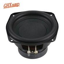 GHXAMP 150MM 6 Inch Nguyên Chất Siêu Trầm Đơn Vị Loa 4ohm 60W Bass Sâu Loa Rạp Hát Tại Nhà Xe Loa Cao Su edge 1Pc
