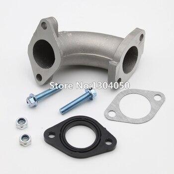 Intake Manifold Pipe 26mm Carburetor intake Manifold Gasket Spacer Screw 110 125 140 150CC Kazuma ATV Lifan YX Dirt bike 56-2 FA