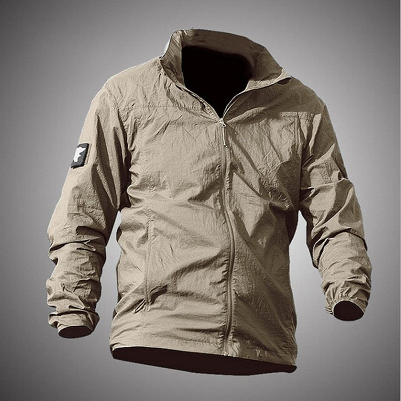 Outdoor Sports Sunscreen Quick Dry Thin Skin Clothing Jacket Waterproof Anti UV Breathable Hooded Windbreaker Tactical Coat Tops(China)