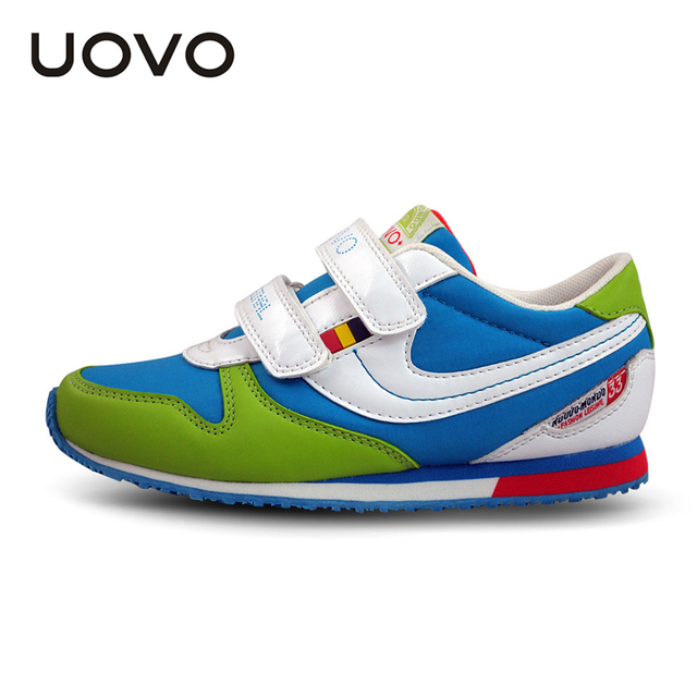 UOVO 2016 hit color fashion children's shoes brand kids shoes school shoes for teen girls and boys size 25-38
