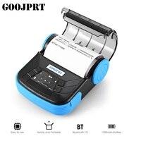 GOOJPRT Printer MTP 3 Portable Thermal Exquisite Lightweight Design 80mm Support Android POS Multilanguage Bluetooth Supermarket