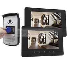 DIYSECUR 800 x 480 7 inch Video Door Phone Doorbell Home Security Intercom System RFID LED Night Vision Camera