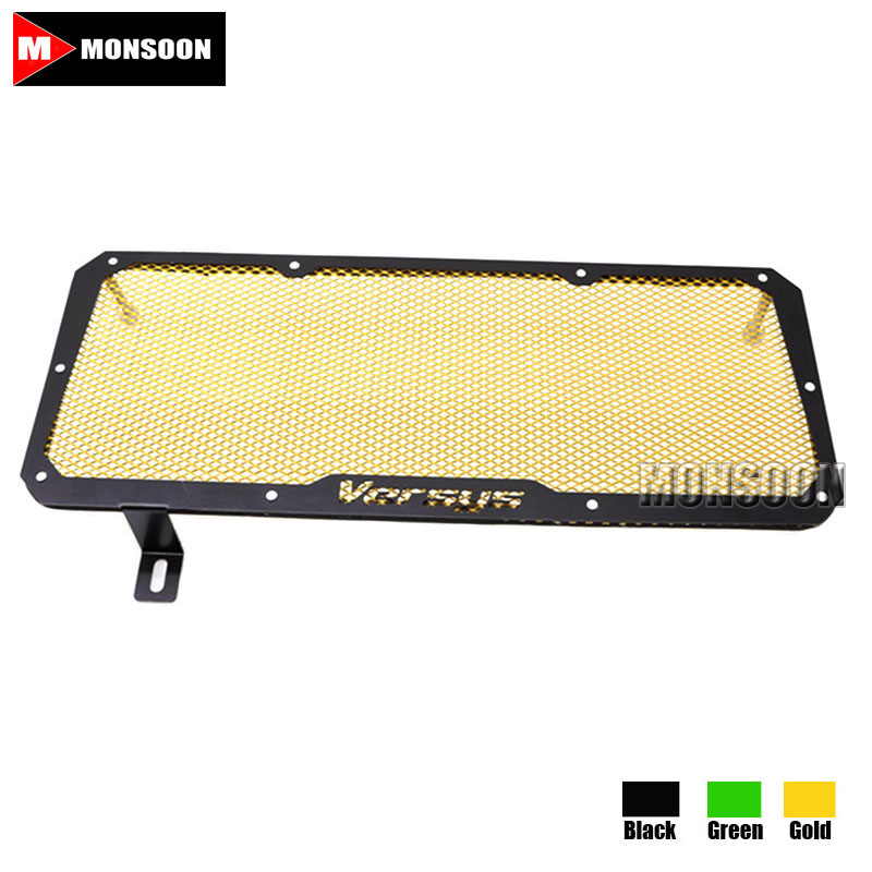 For Kawasaki Versys 650 Versys650 2015-2016 Motorcycle Accessories Radiator Grille Guard Cover Fuel Tank Protection Gold 2015 2016 2015 2015