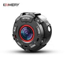 цена на KOMERY Mini Sport Action Camera HD1080P WiFi Waterproof 30M DV 5 pcs wide-angle lenses Night Version Shooting Smart Watch Camera