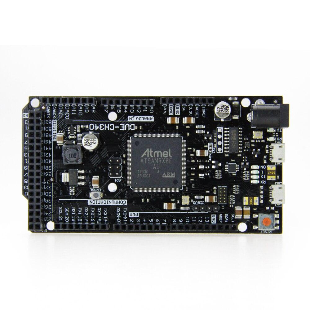 Black Due R3 Board DUE-CH340 ATSAM3X8E ARM Main Control Board With CH340G For Arduino