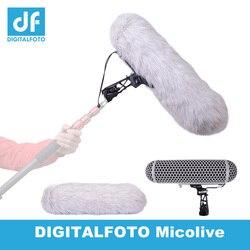 DIGITALFOTO Blimp Microphone wind protect Cage Windshield Shock Mount Suspension System for RODE series Microphone VS RODE BLIMP