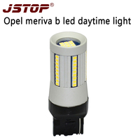 JSTOP Meriva B DRL Led Daytime Running Lamps Day Bulbs 12 24V 6000K Canbus 100 No