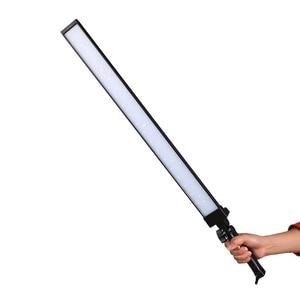 Image 2 - GSKAIWEN H 600 LED ビデオライトハンドヘルドランプ LED 写真スタジオ照明 5600 18K 調整可能な輝度 (含めない三脚)
