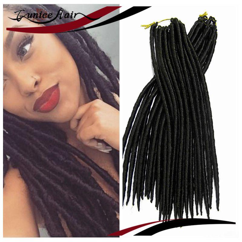 14 Janet Collection 2x Havana Mambo Faux Locs Braid Hair Natural